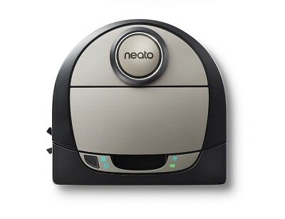 Neato Robotics - Botvac D7 Connected App-Controlled Robot Vacuum  Black/Gray NEW