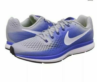 25a0e83bc7c1a NIKE AIR ZOOM Structure 21 WIDE 4E Men Shoes 904697-007 Grey White ...