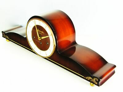 Later Art Deco Westminster Chiming Mantel Clock From Hermle -Belcanto