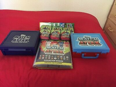 RARE! - Topps Match Attax 2016/2017 - Complete MASTER Set - 594 Cards + MORE!!!