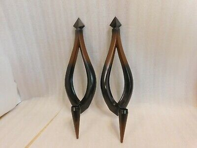Vintage Dart Syroco Mid Century Wall Sconce 4009 1966
