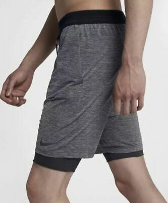 23b3559bcbca Nike Flex Run Division Stride Elevate Men s 2-in-1 Running Shorts Size S