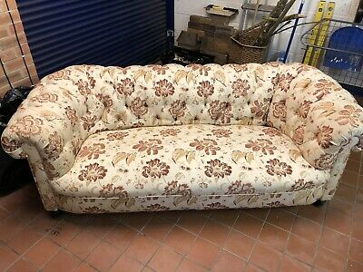 Antique Victorian Chesterfield Sofa 3 seater