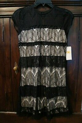 5d21cab4651 DILLARDS GB GIRLS Dress Peach beige With Sequin Stars New With Tags ...