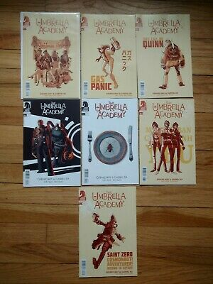 Umbrella Academy Hotel Oblivion Lot Of 7 Comics Variants Netflix Gerard Way