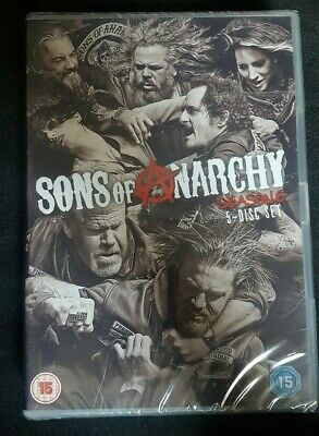 Sons of Anarchy season 6 5 disc set - brand new sealed packaging rated 15 - DVD