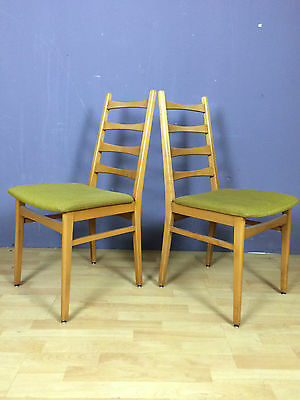 OB16-0070a-Mid Century-Paar Stühle-chairs-fifties-50s-60s-GDR