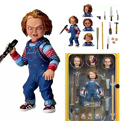 """NECA Chucky Good Guy Doll Child's Play Ultimate 4"""" Action Figure Birthday Toys"""