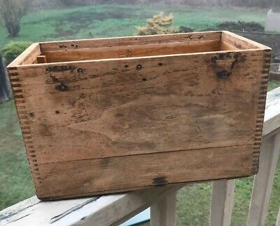 Antique Wood Box / Drawer
