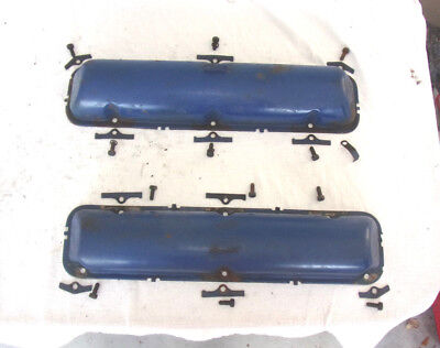 Vintage 1966 Lincoln Continental Oem Set Of Valve Covers Please Lqqk!!