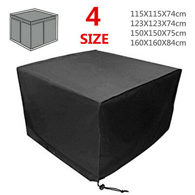 Garden Patio Furniture Cover Waterproof Cube Outdoor Rattan Table Protective