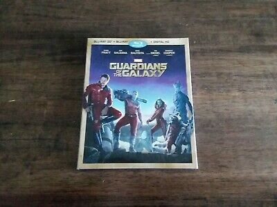Guardians of the Galaxy with mint slip cover Blu Ray+ 3D