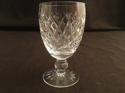 "Single Waterford Donegal Claret Wine Glass  4 3/4"" H Multiple Available"