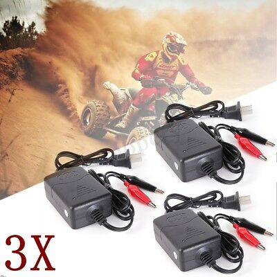 3X Smart Compact Battery Charger Tender 12V Maintainer Car ATV Truck Motorcycle