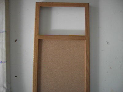Vintage Oak Memo Board for Stained Glass by Clarity from 1985- Item 144