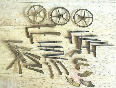 Genuine Antique French Clock Racks and Lifters Count Wheels etc circa 1880
