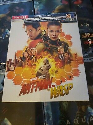 Marvel's Ant-Man and The Wasp (Target Exclusive) (4K/UHD + Blu-Ray + Digital)