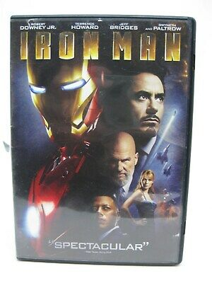 Iron Man (Single-Disc Edition) DVD - 100% Tested and Working