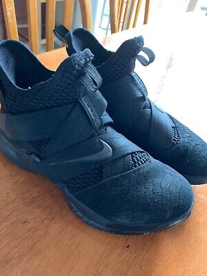 lowest price 653df 09d7b NIKE LEBRON JAMES Soldier XII 12 Sneakers Black Mens Size ...
