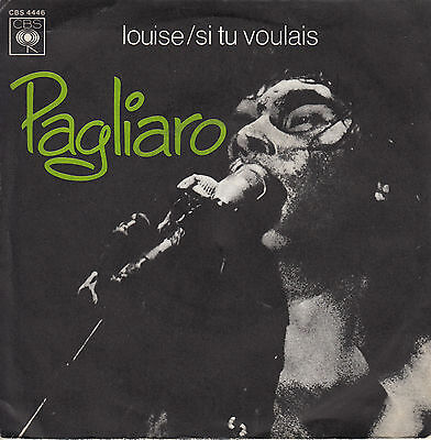 45Trs Vinyl 7'' / French Sp Michel Pagliaro / Louise