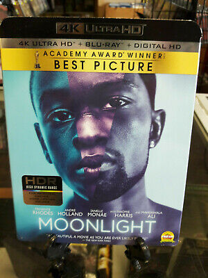 Moonlight 4K Ultra HD+Blu-Ray USED WITH SLIPCOVER NO DIGITAL