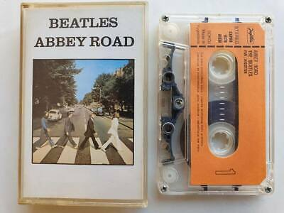 The Beatles Abbey Road 1988 Jugoton Cassette Tape Original with Booklet ビートルズ