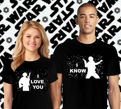 Star Wars Couple Matching Shirts, his and hers Shirts, Disney Star wars Shirts
