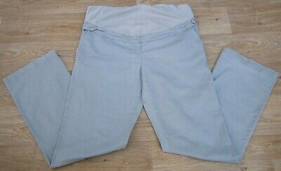 "Colline Maternity Stone Fine Cord Over Bump Trousers Size W38"" L33"""