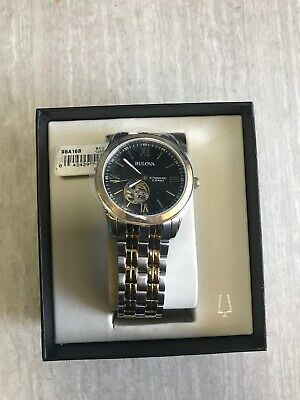Bulova-MENS-Automatic-98A168-Open-Heart-Black-Dial-Two