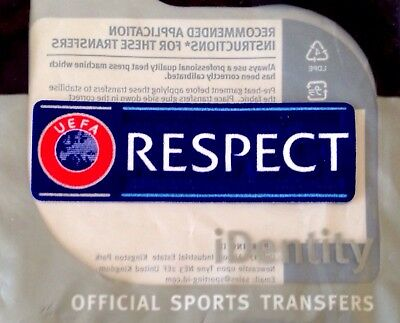 2013-19 UCL/Europa RESPECT Official SportingiD Lextra Football Badge Patch
