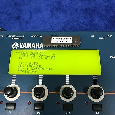 Yamaha RM1X EPROM with last OS Version Firmware 1.13
