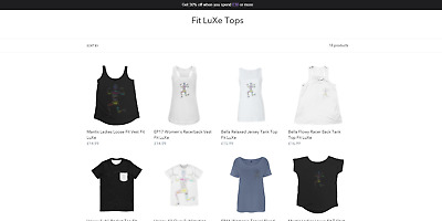 Start your own business -Fit LuXe Fitness Clothing Brand - Includes Everything!!
