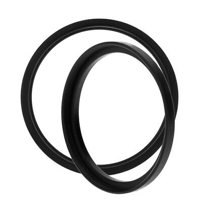 2PCS 77-82mm Camera Lens Filter Step Up & Down Ring Adapter For Canon Nikon