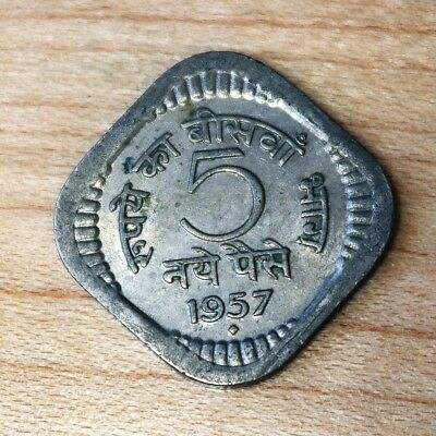1957 India 5 Paise