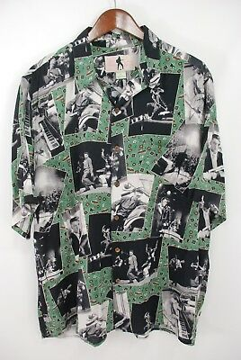 9fdcd319 Reyn Spooner Elvis Presley Hawaiian Shirt Rayon Made in Hawaii Men's Large