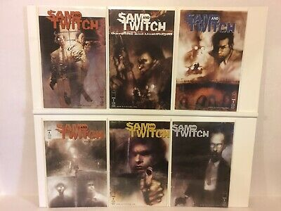 Image 42 Comic Lot Sam and Twitch Near Complete Series Misc Spawn Issues