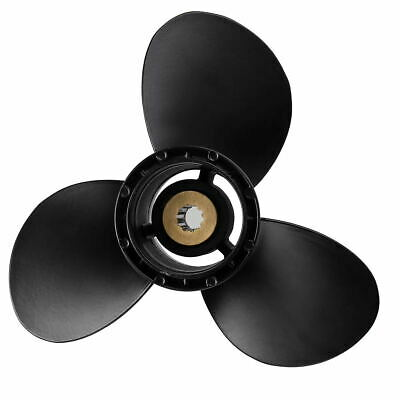 Aluminum Marine Boat Outboard Engine Propeller 9 1/4x10 Pitch For Suzuki 15-20HP