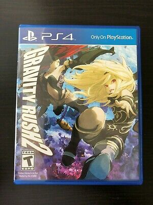 Gravity Rush 2 - PlayStation 4, 2016 PS4 - Complete, Free Shipping