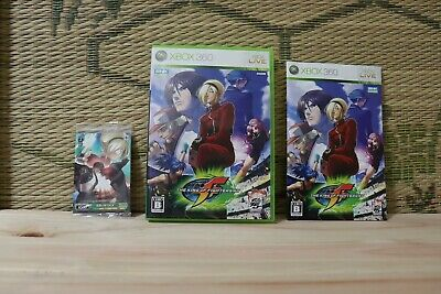 *In Stock* The King of Fighters XII 12 w/Card Xbox 360 Japan VG condition!