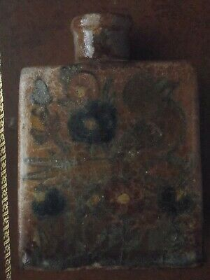 Antique Vintage Pottery ? Tea Caddy (could be used as vase)