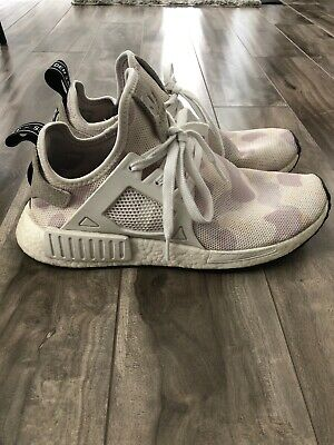 outlet store 21477 7bb9a ADIDAS NMD XR1 White Duck Camo size 9 Men's Rare Used