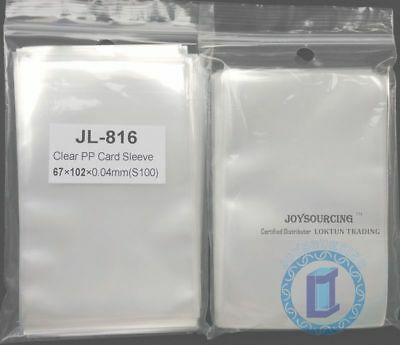 Card Sleeves JL-816(67x102-S100) for 65x100mm 7 Wonders Board Games JOYSOURCING