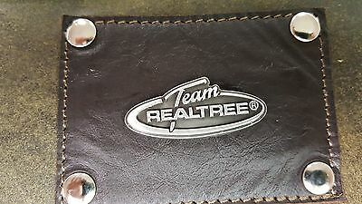 Team Realtree 3 Piece Leather Luggage Set- Duffle, Messenger & Travel Kit