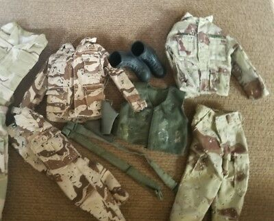 1/6 Scale Mixed Equipment And Uniform Parts From Gi Joe, 21St, Dragon, Etc.