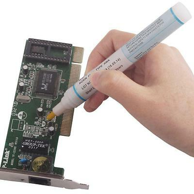 951 Soldering Flux Pen Low Solids No Clean For Solder Solar Cell Process 10ML ZH