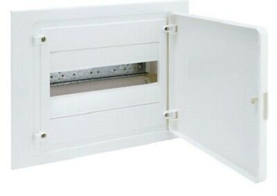 Hager QC FLUSH MOUNTED ENCLOSURE 293x352x97.5mm 63A 1-Row 12-Poles White Door