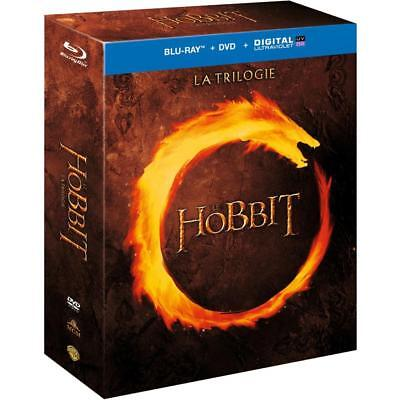 LE HOBBIT LA TRILOGIE [Coffret Combo Blu-ray + DVD + Copie digitale] NEUF - NEW