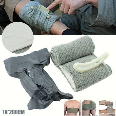 10*200cm Army Issue First Aid Bandage Israeli Trauma Wound Blood  Field Dressing