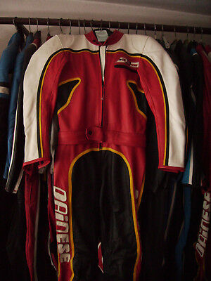 Tuta vintage in pelle nuova  Dainese Barry Sheene