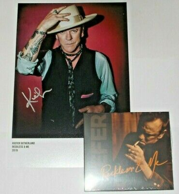 Kiefer Sutherland Reckless & Me Cd Album (Includes Signed Photograph)